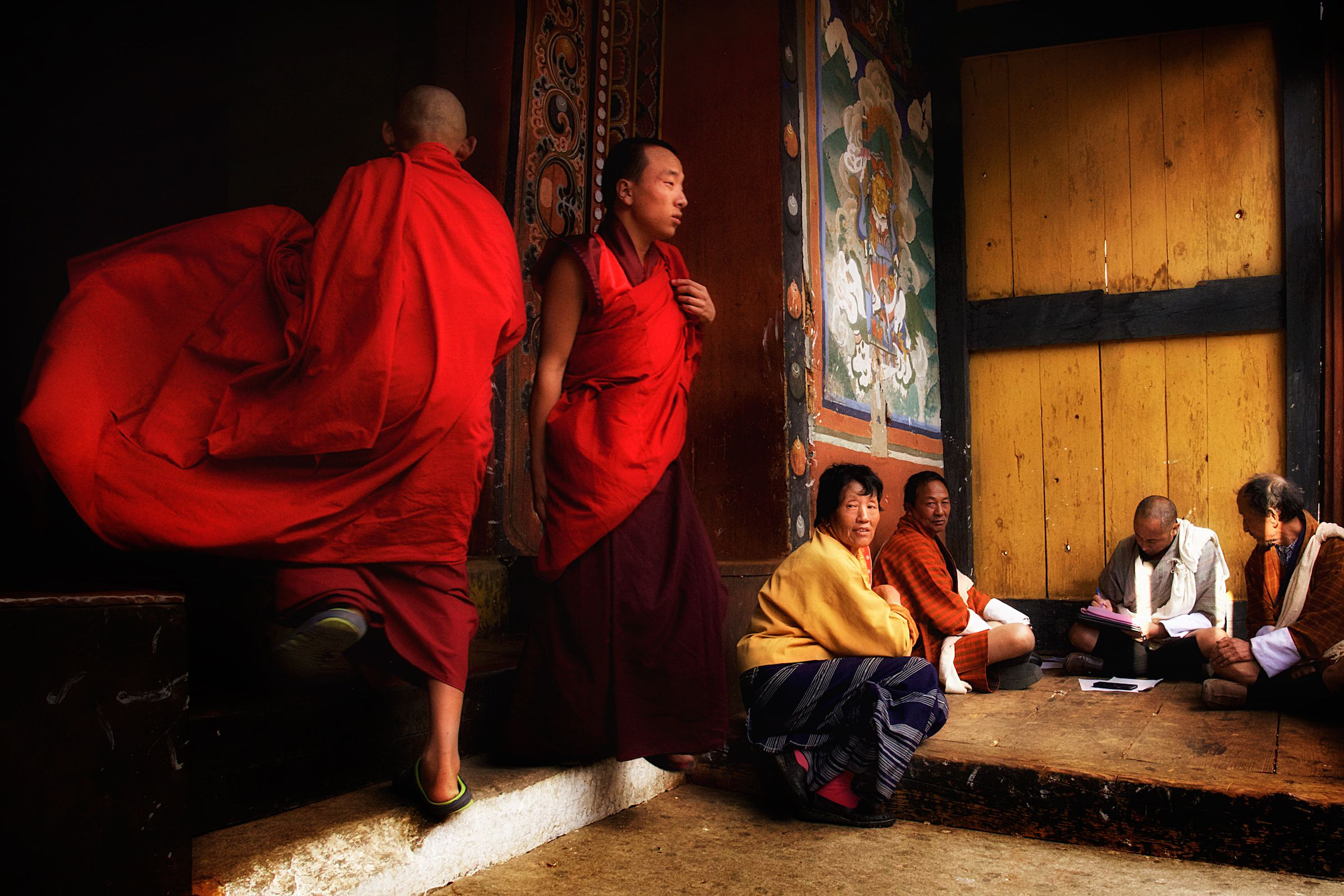 Nepal Monks