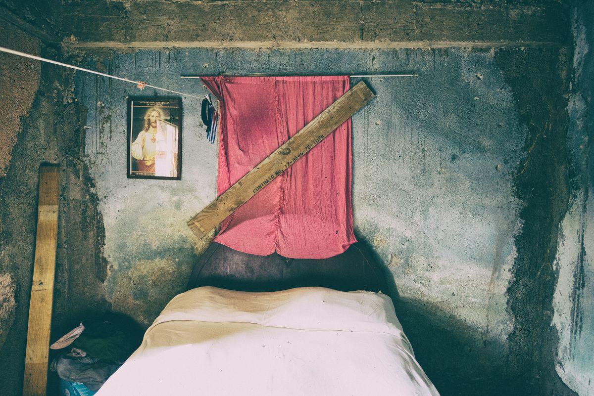 Cuban bedroom