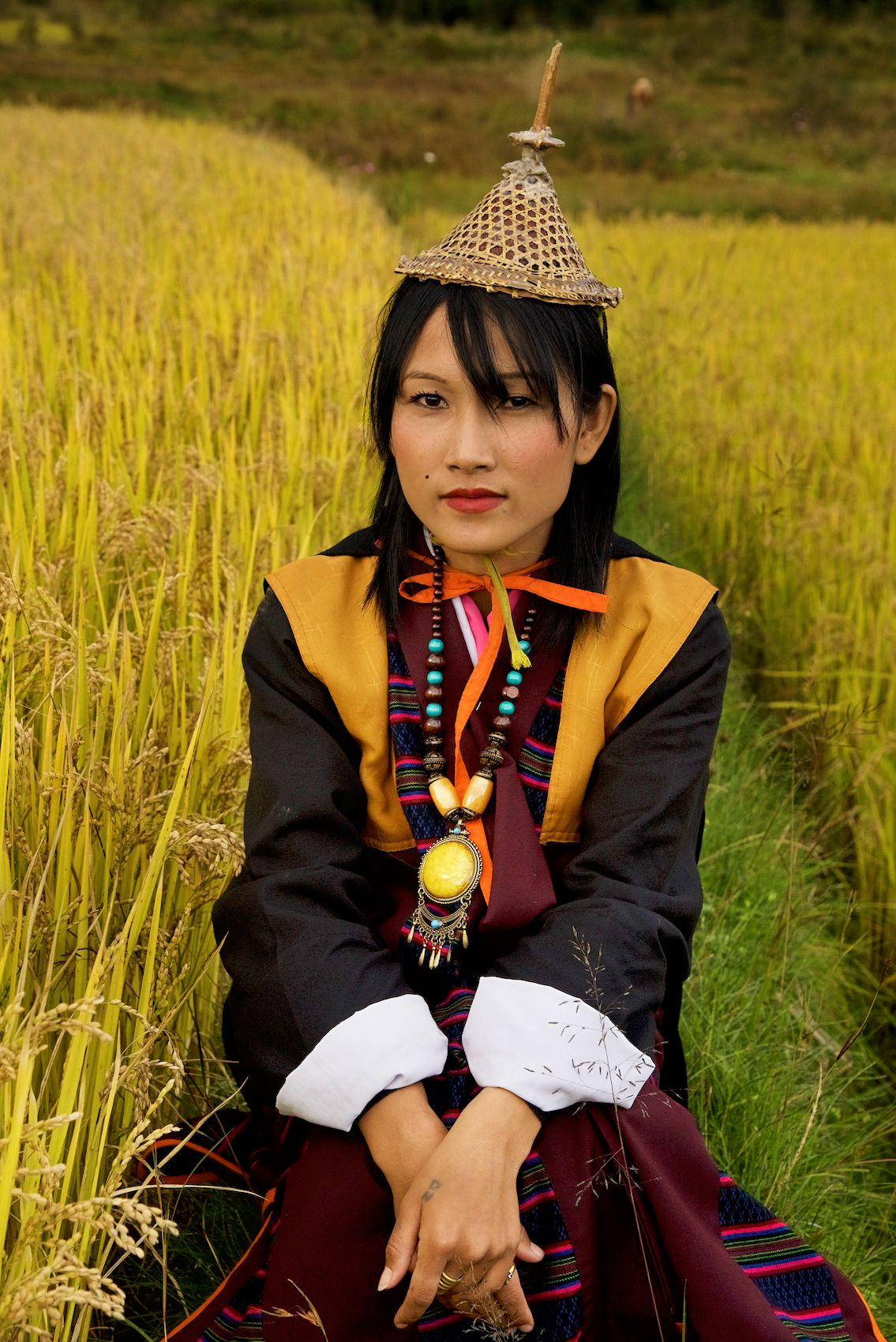 Traditionally Dressed woman