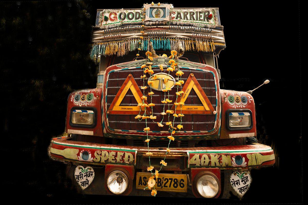 Crazy Indian Truck