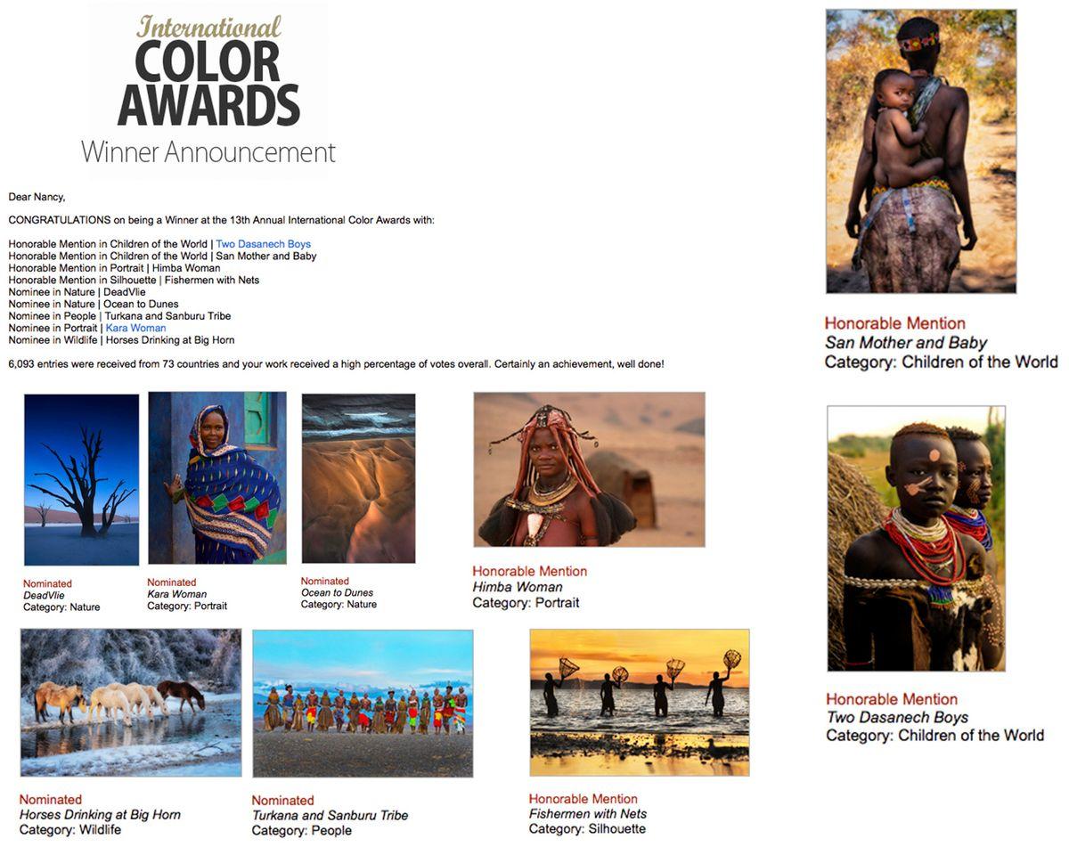 International Color Awards 2020