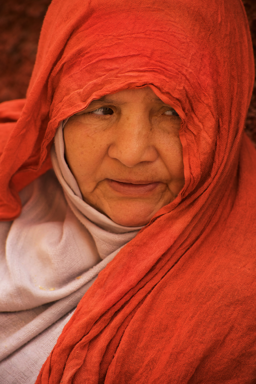 Old woman on the street