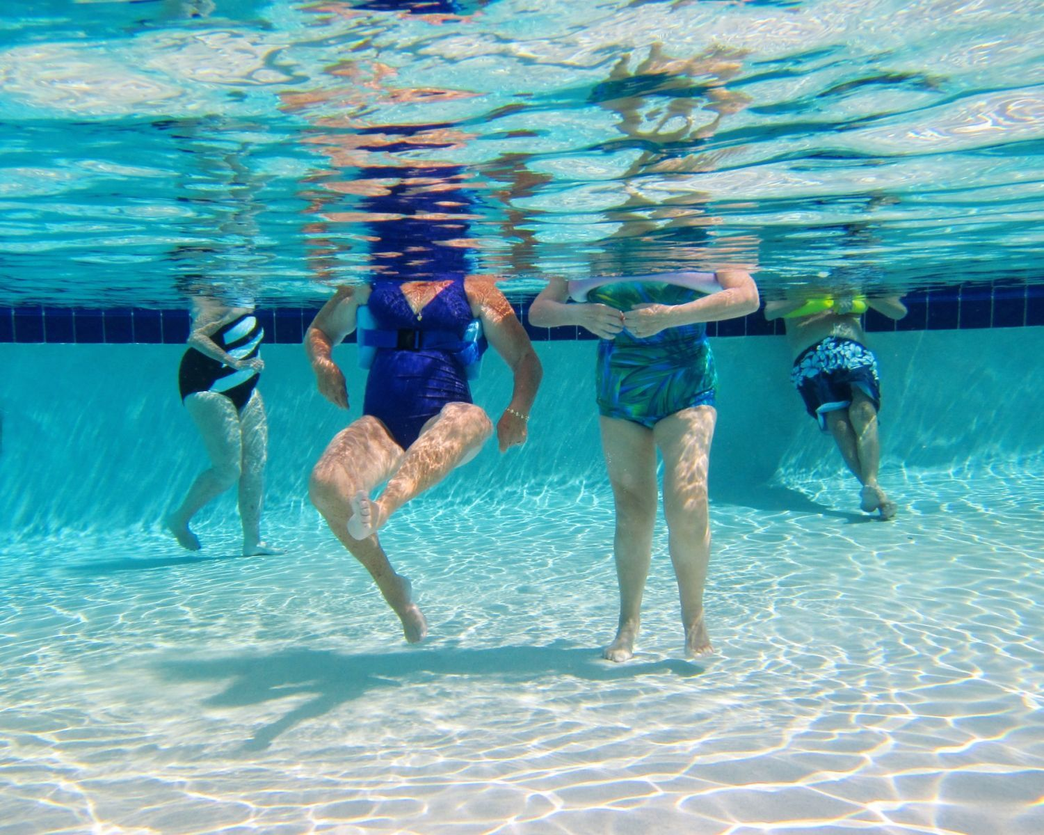 pictures of people swimming