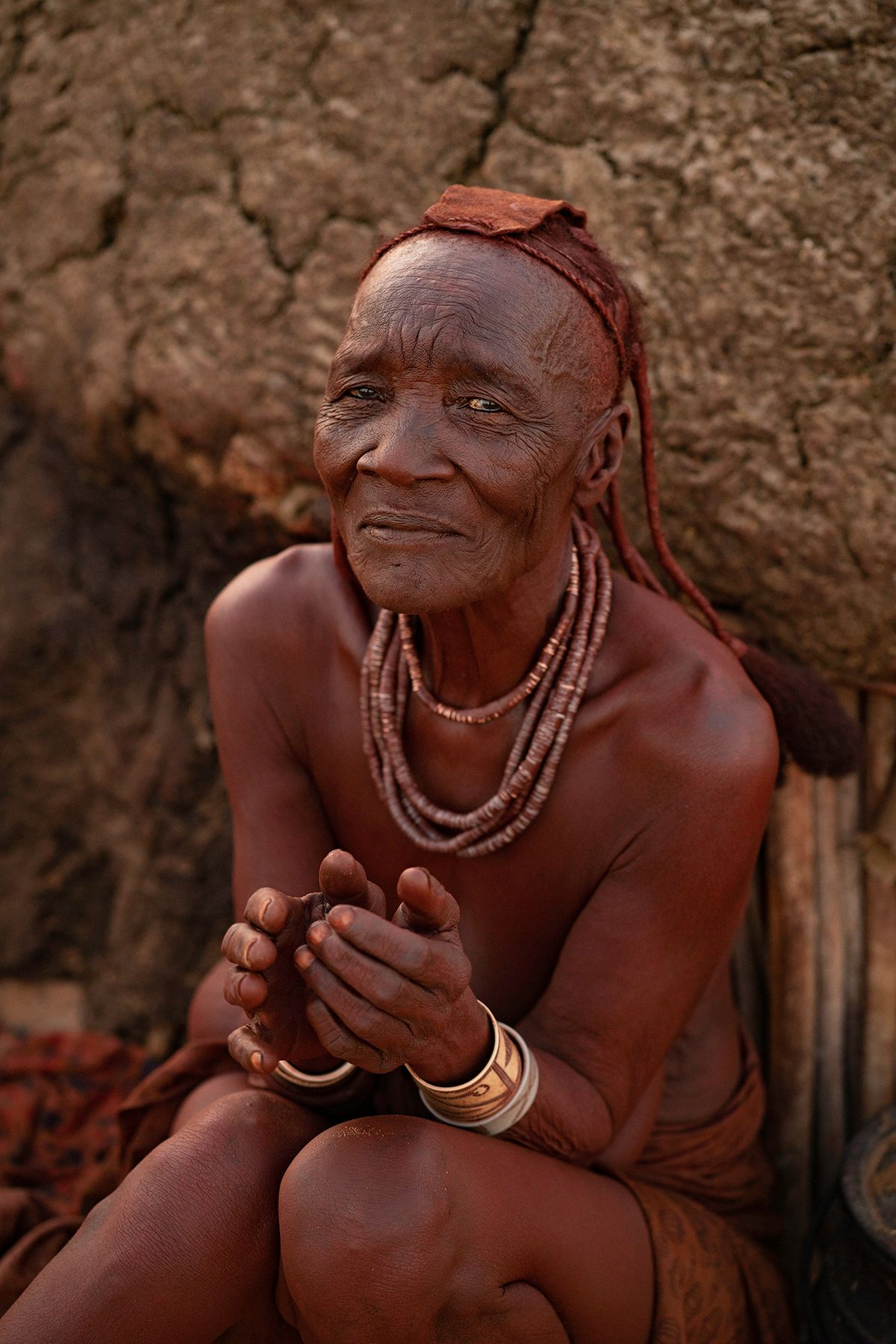 Elderly Himba Woman