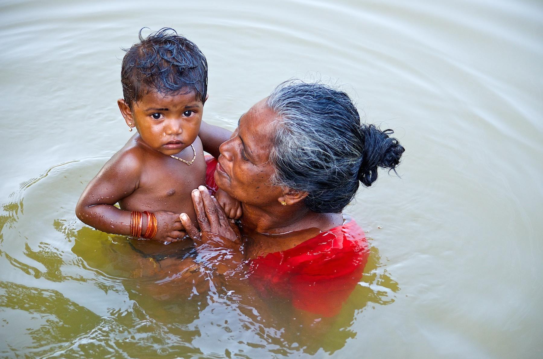 Child with Grandma