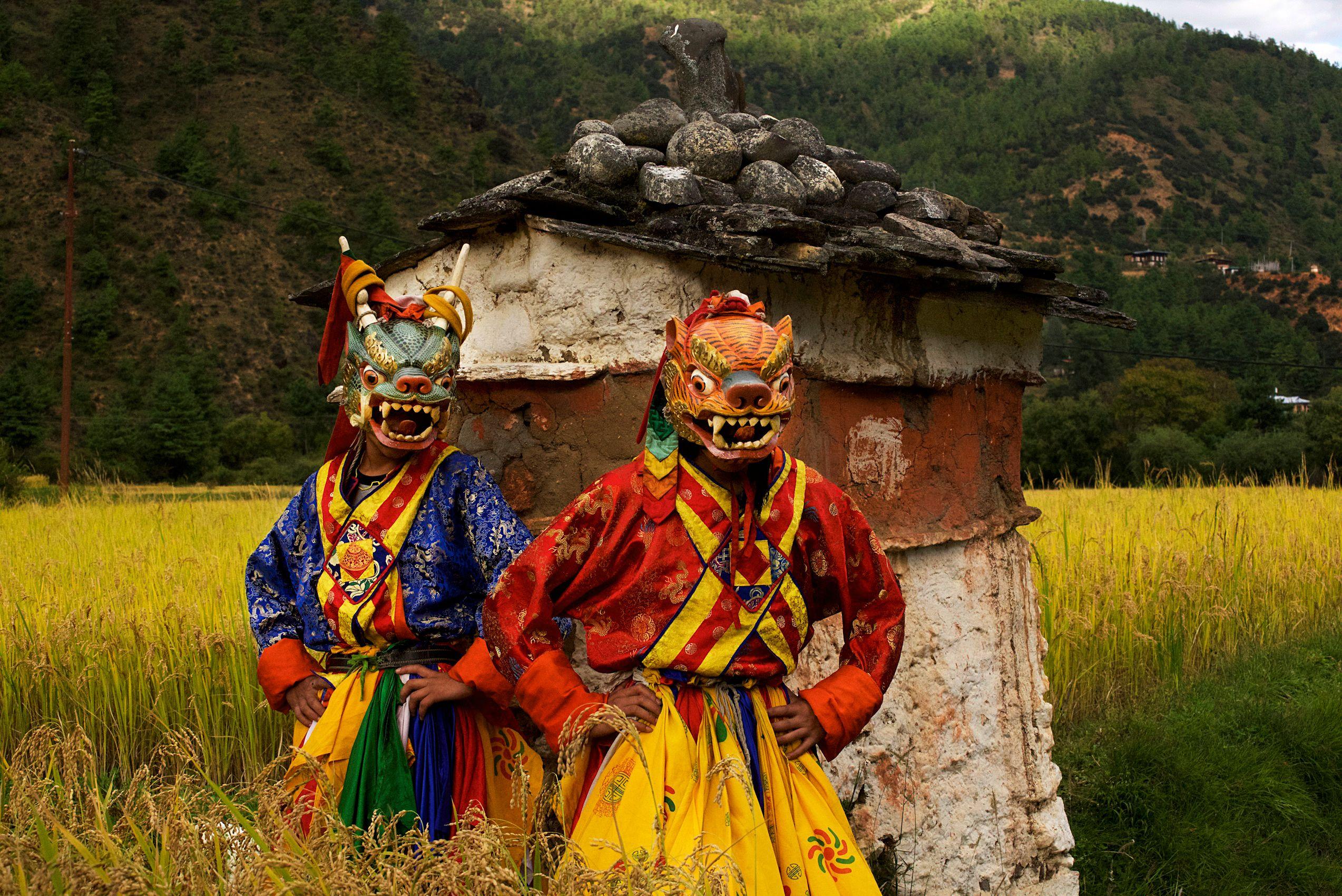 Thimphu Bhutan Photos