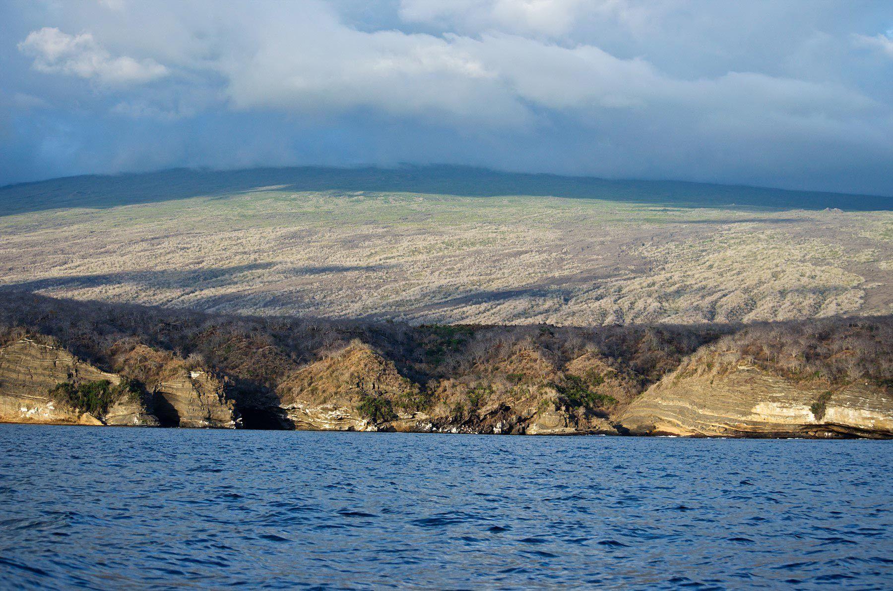 Galapagos mountains