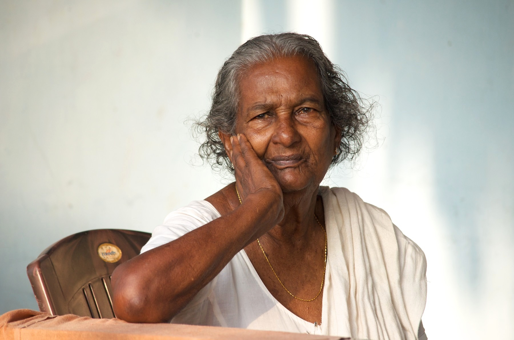 Older India woman picture