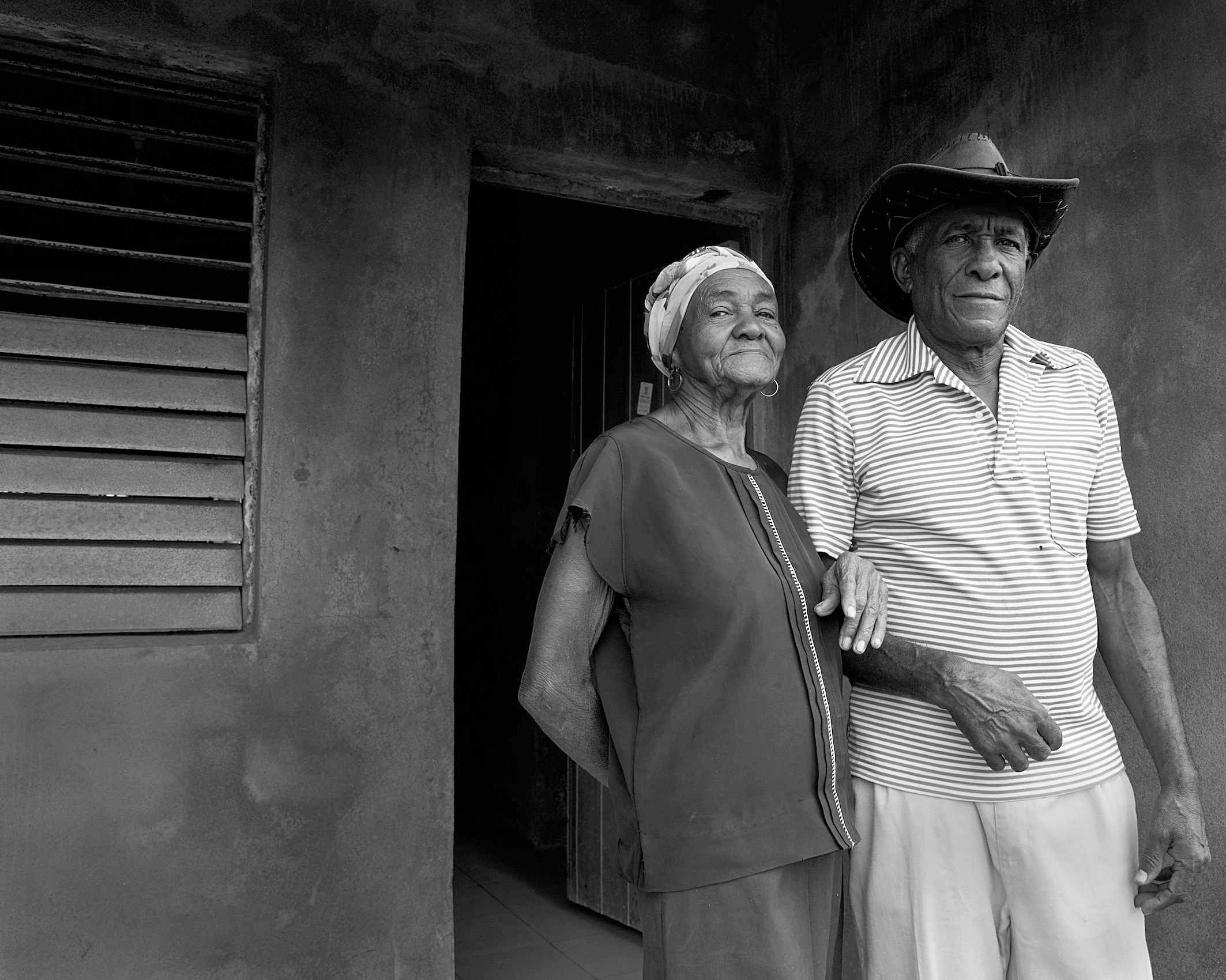 portrait of Cuban couple