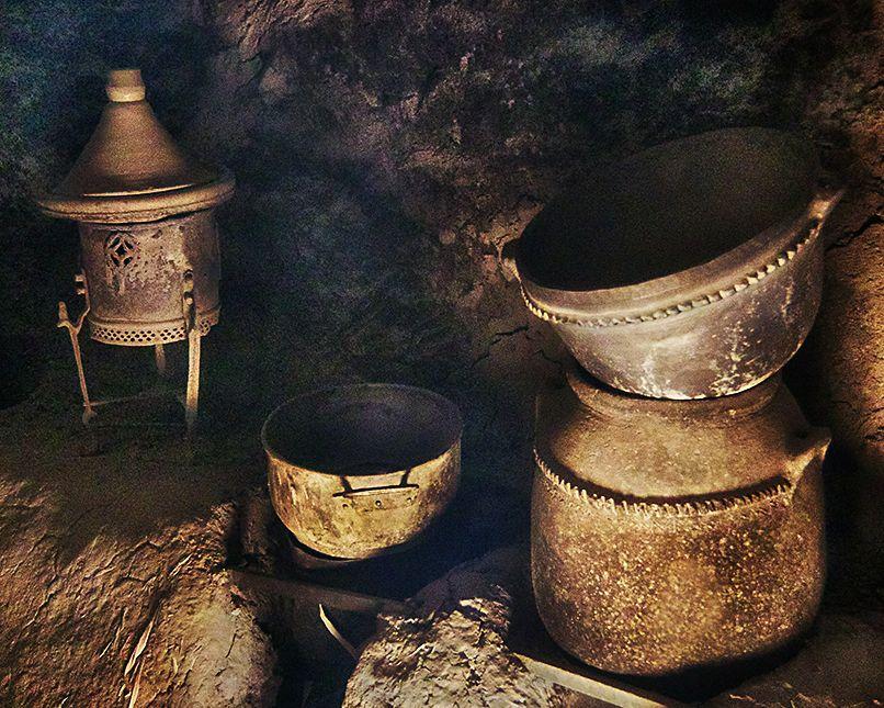 Skoura old pots