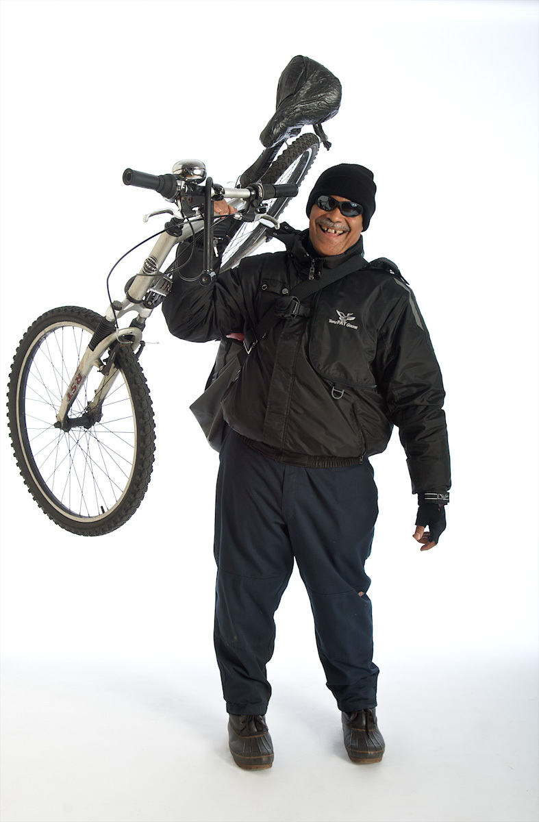 picture of bike messenger
