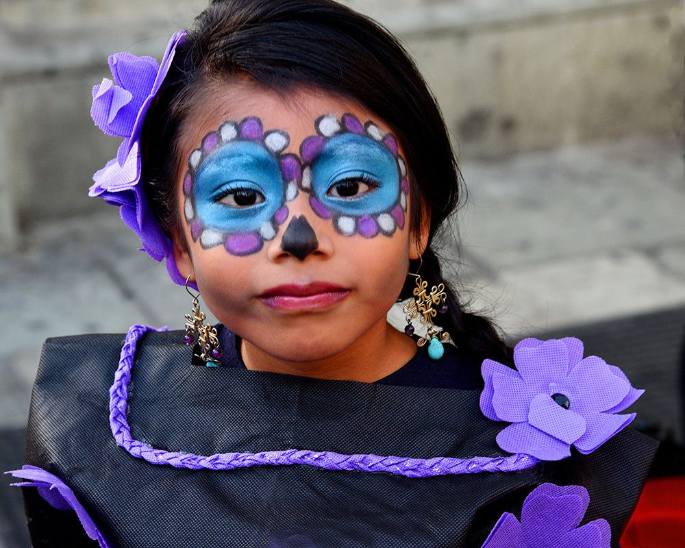 Mexican festival face painting ideas