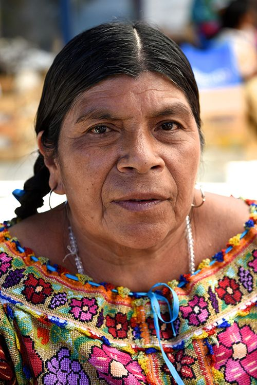 Portrait of Mexican Woman