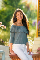 Juliana sun flair Senior Picture