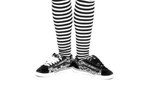 Stripes and shoe laces