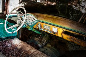 Junked Old Car