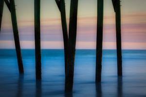 Surfside Beach Pier and Ocean S.C.