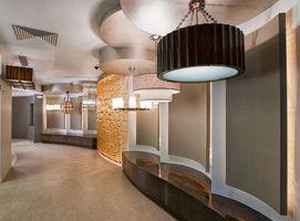 Hallway View lighting showroom