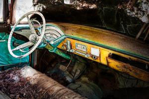 Junked Old Car