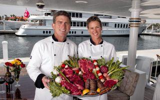 Chefs on Yacht