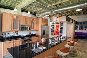 Kitchen in loft