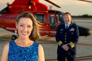 Helicopter Coastguard pilot