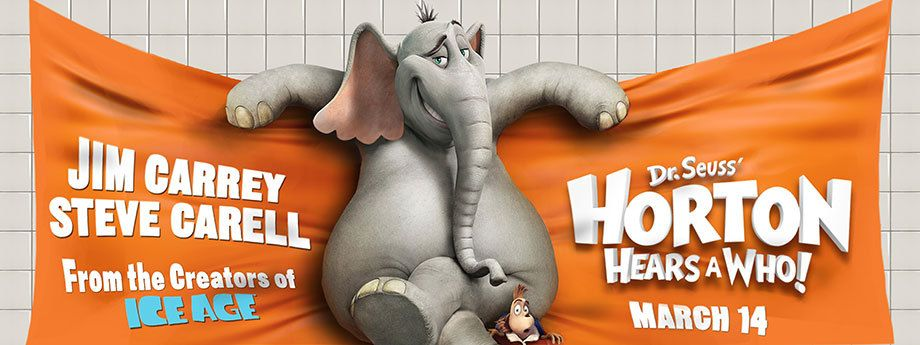 20th Century Fox / Horton Hears A Who / Subway Banner
