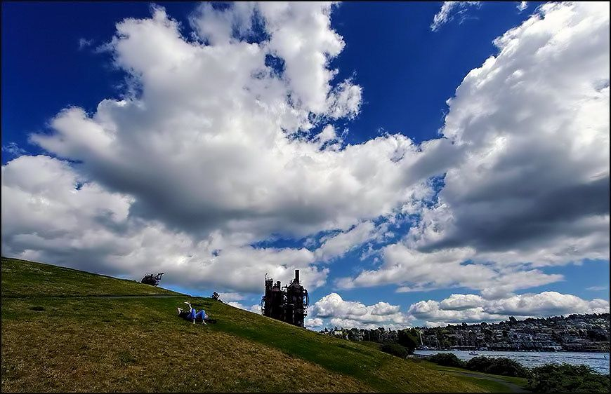 Gasworks Park & Lake Union in Seattle