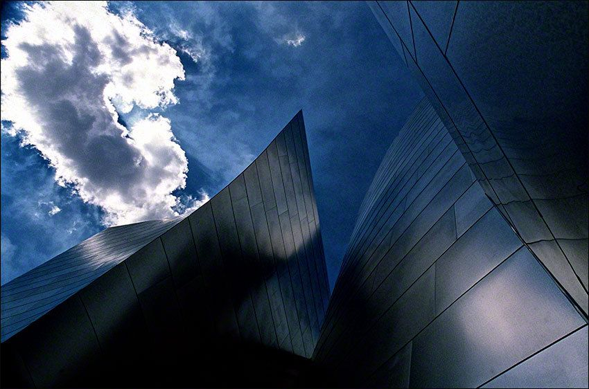 Disney Music Hall Clouds