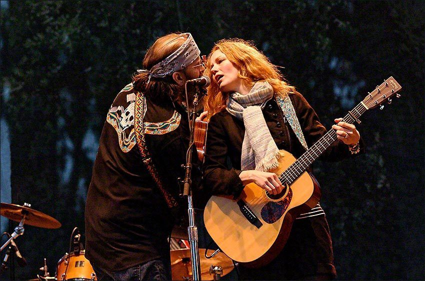 Alison Moorer & Steve Earle at Hardly Strictly Bluegrass 10