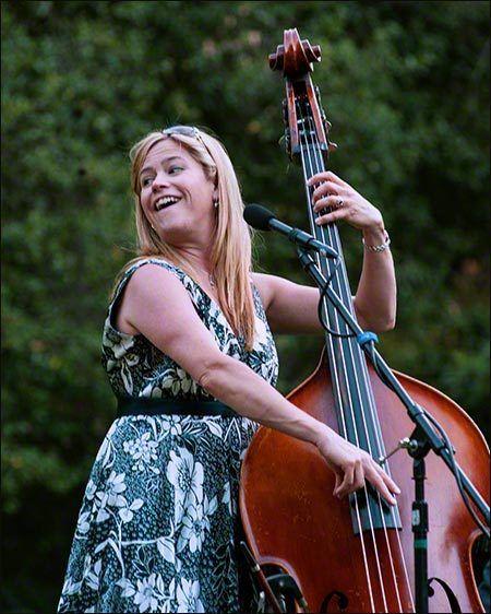 Kristin Korb Enjoys Performance at Descanso Gardens