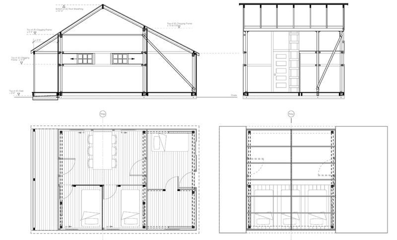 diagram of bunkhouse historic chinese bunk house paul welschmeyer architects   energy  historic chinese bunk house paul