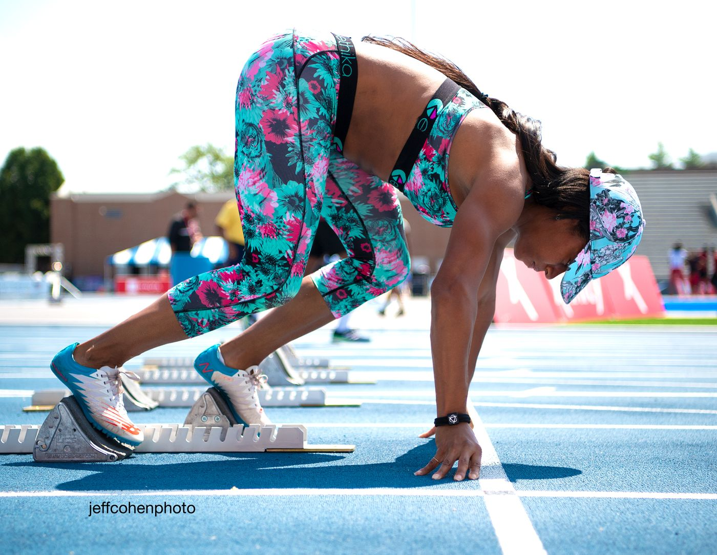 Miki Barber, 2019 Toyota Usatf Outdoor Championships, Des Moines, Iowa.