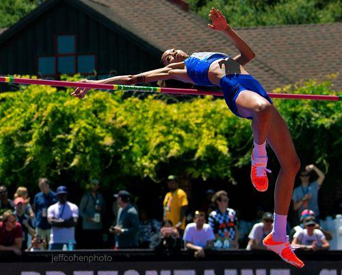 Vashti Cunningham, high jump 2.00 meters 2019 Prefontaine Classic