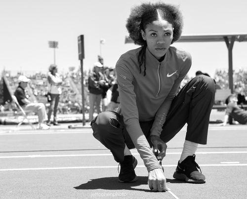 Vashti Cunningham, High Jump, 2019 Prefontaine Classic.