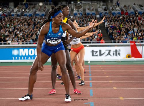 Jessica Beard, USA, 2019 IAAF World Relays. Yokohama, Japan.