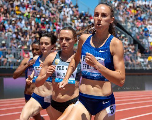 Alexa Efraimson, USA, 2019 Prefontaine Classic. 1500 meters