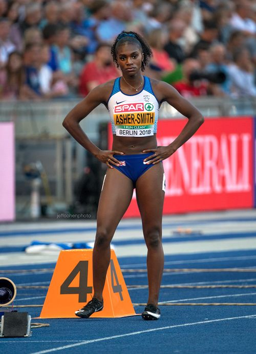 dina Asher smith 200 meters