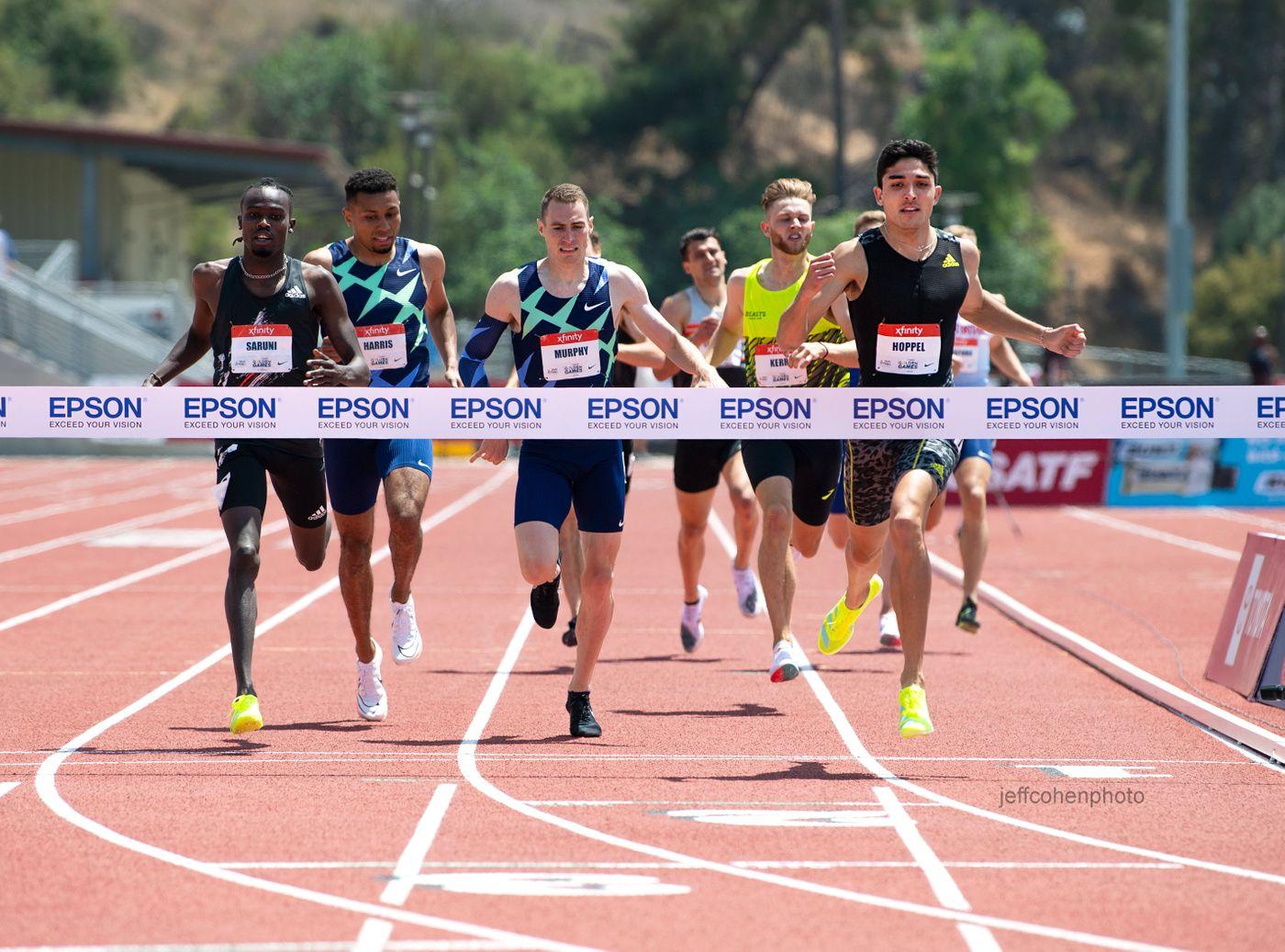Bryce Hoppel, 800meters, 2021 USATF Golden Games