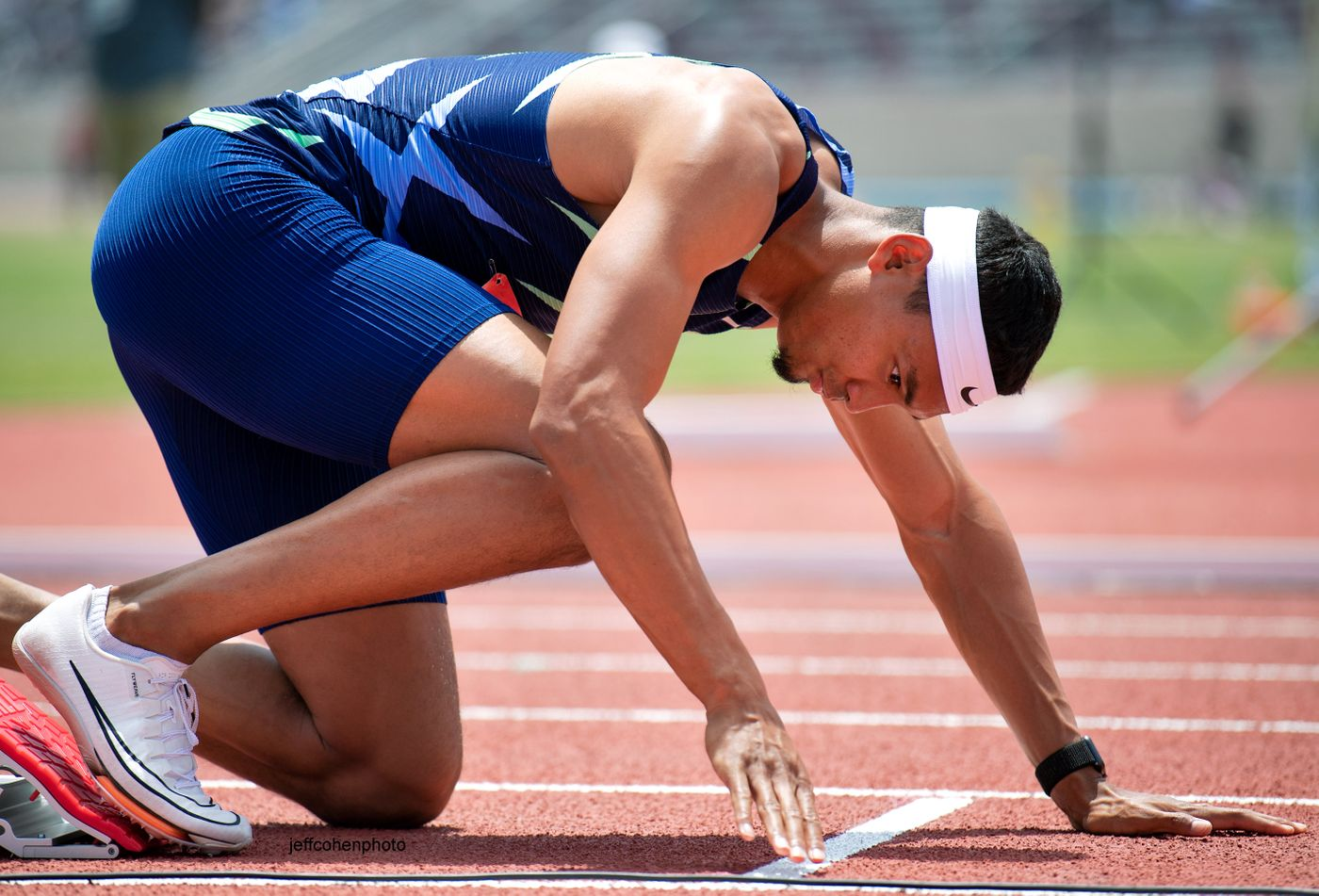 Michael Norman. 400 meters, 2021 USATF Golden Games