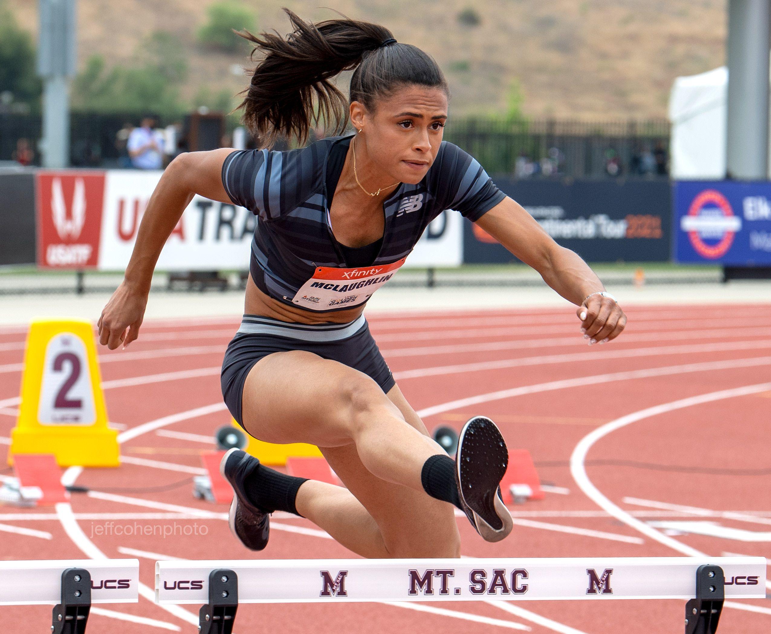 Sydney Mclaughlin, 100 meter hurdles, 2021 USATF GOLDEN GAMES