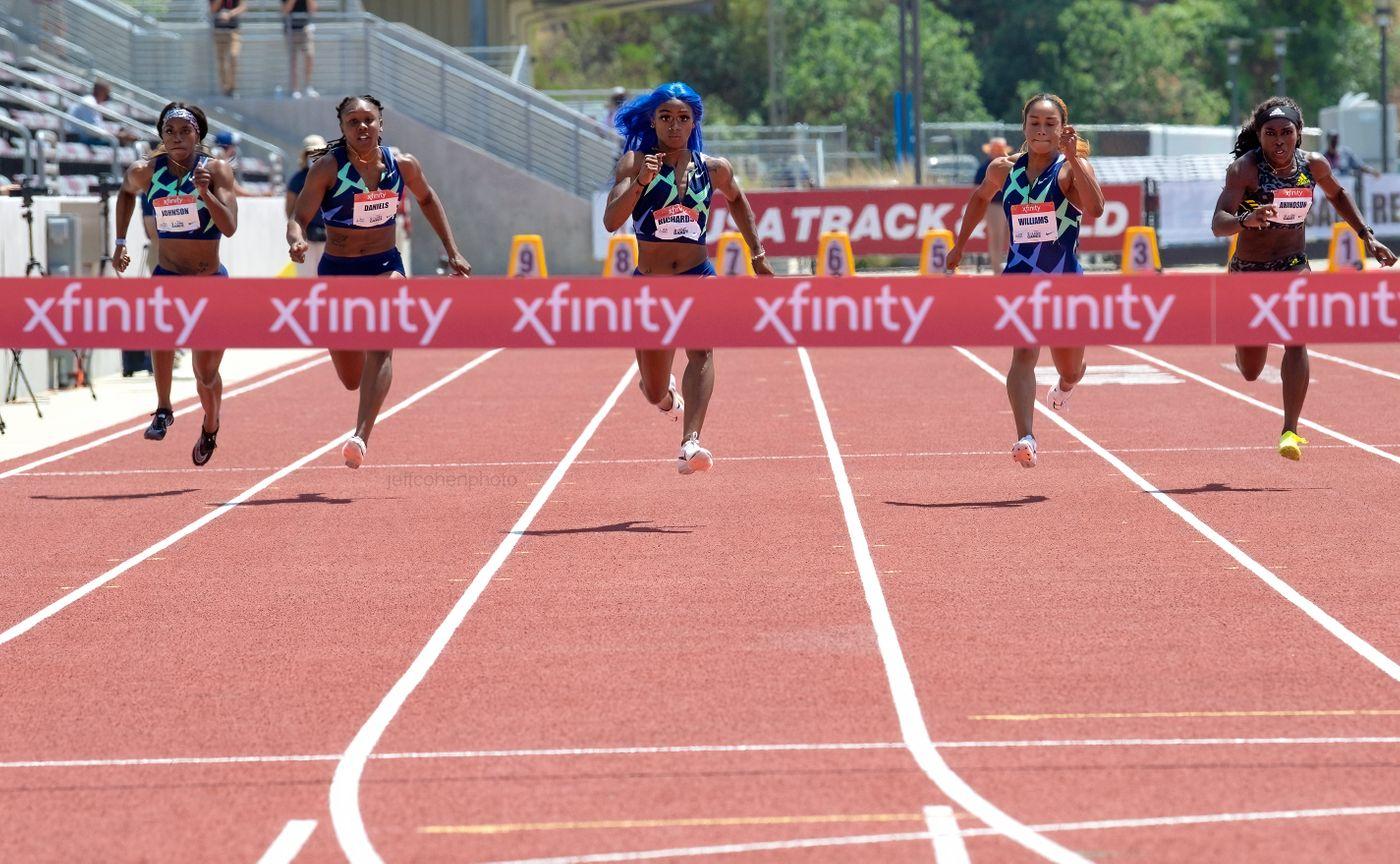 Sha'carri Richardson, 100meters , 2021 USATF golden games
