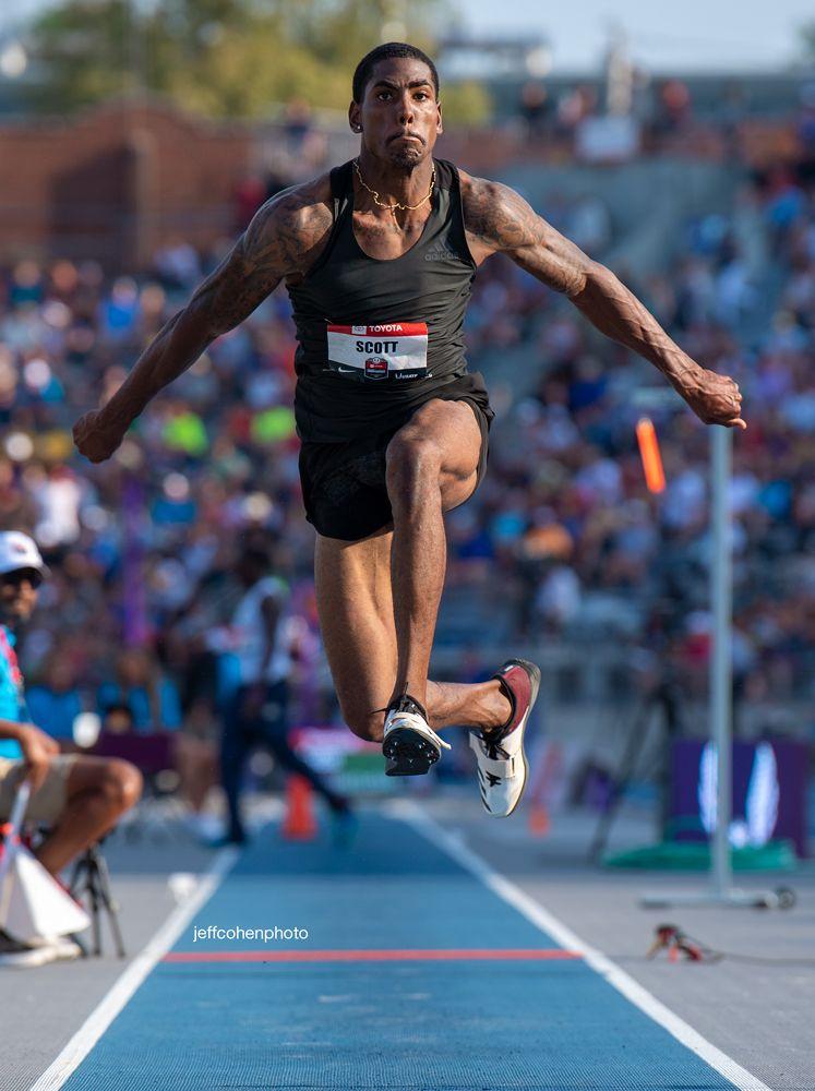 Donald Scott Triple Jump