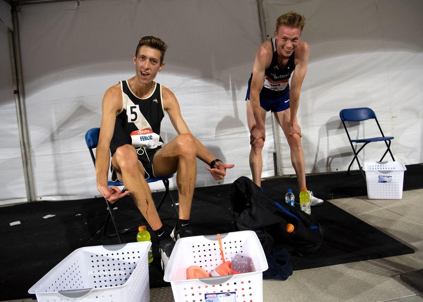 Mason Ferlic, 5000 meters, 2021 Usatf golden games