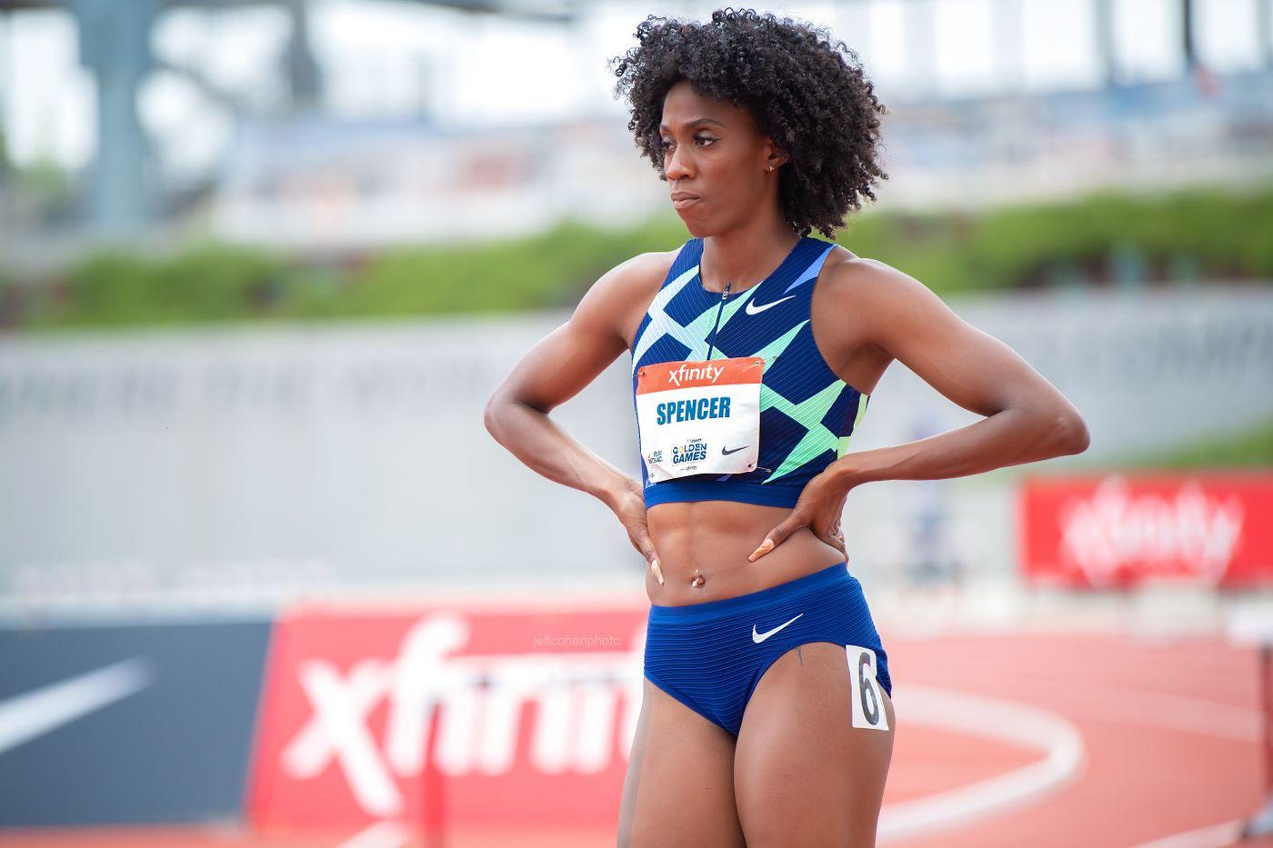 Ashley Spencer 400 meter hurdles