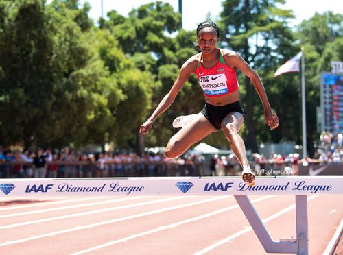 Beatrice Chepkoech, Kenya, 2019 Prefontaine Classic. Steeplechase