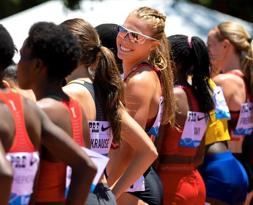 Colleen Quigley, Steeplechase, 2019 Prefontaine Classic.