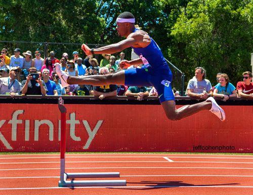 Rai Benjamin, 400m hurdles, 2019 Prefontaine Classic