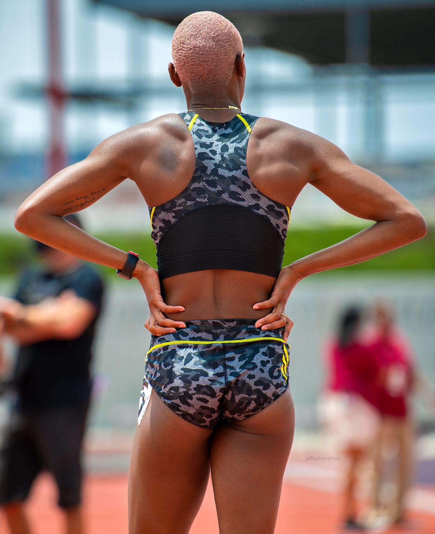 Shamier Little, 400 meter hurdles, 2021 USATF Golden Games