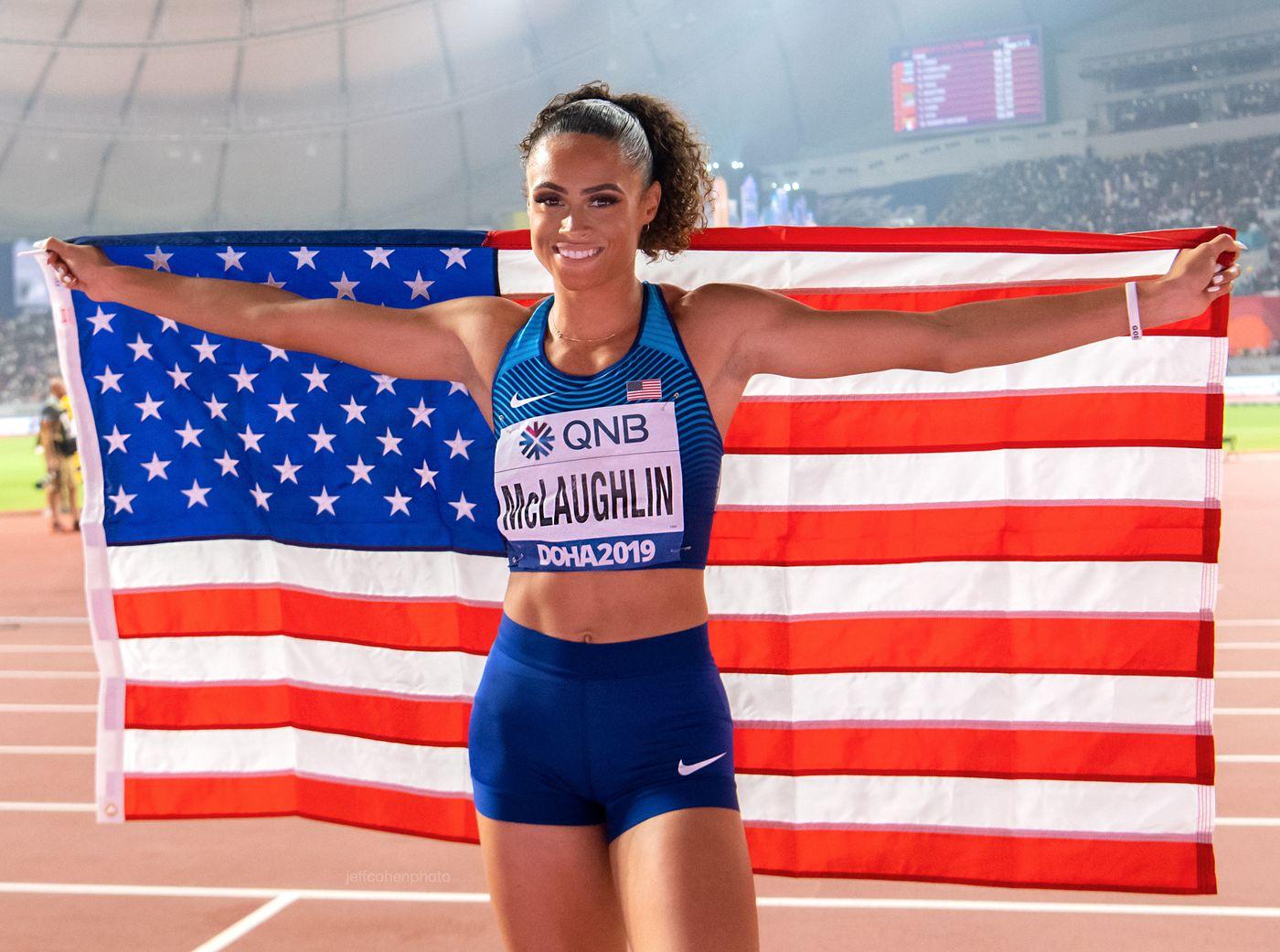 Sydney Mclaughlin, 400meter hurdles. 2019 IAAF WORLD ATHLETICS CHAMPIONSHIPS DOHA, QATAR